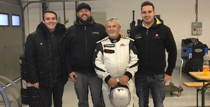 Michelisz Norbi és édesapja a Zsille Motorsportnál !!!